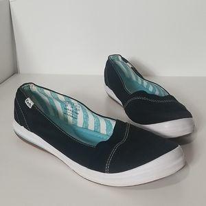 Keds Whimsy Slip On Shoes, Black